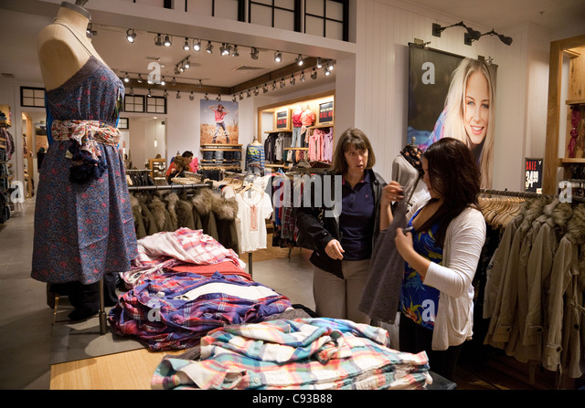 American Eagle Outfitters Store Interior