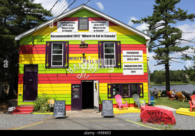 White Sails Cafe Near Peggy S Cove