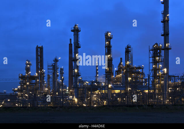 germany schleswig holstein refinery hemmingstedt close moor at