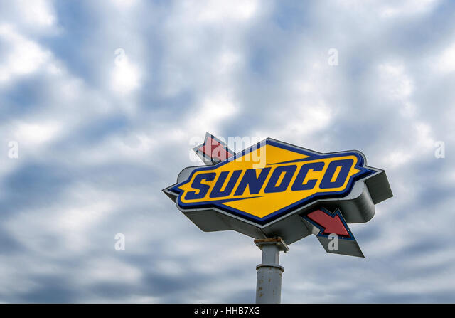 Sunoco stock photos sunoco stock images alamy - Garden state parkway gas stations ...