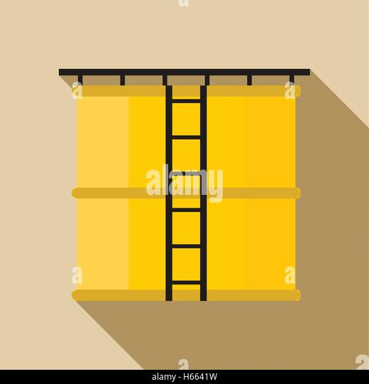 oil storage tank icon flat stock photos  u0026 oil storage tank