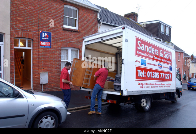 Removals Lorry Stock Photos Amp Removals Lorry Stock Images