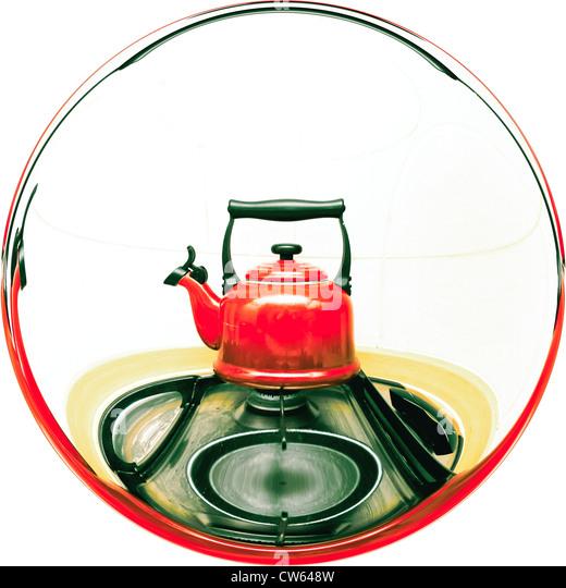 Kitchen Hob Cartoon ~ Boiling kettle hob stock photos