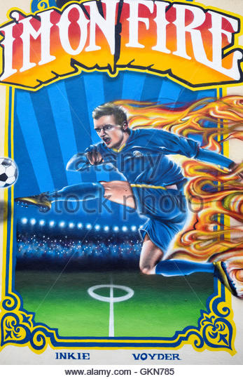 Leicester city football stock photos leicester city for Club de suscriptores mural
