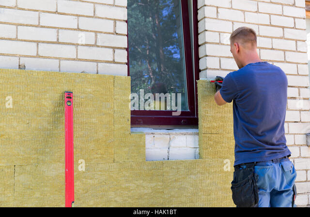 House insulation stock photos house insulation stock for Wool house insulation