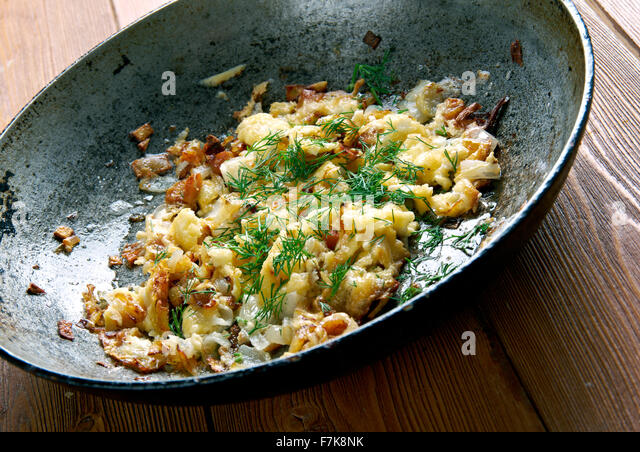KasNocken (Austrian Spaetzle With Cheese And Caramelized Onion) Recipe ...
