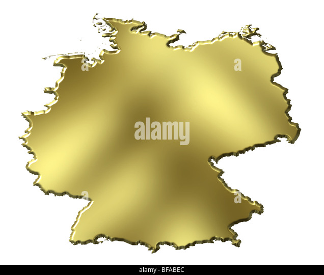 German Country Map Stock Photos German Country Map Stock Images - Germany map clipart