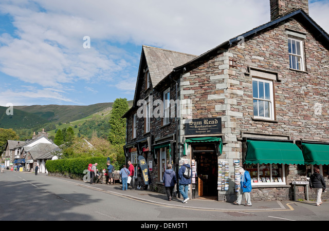 Grasmere Village Stock Photos Amp Grasmere Village Stock