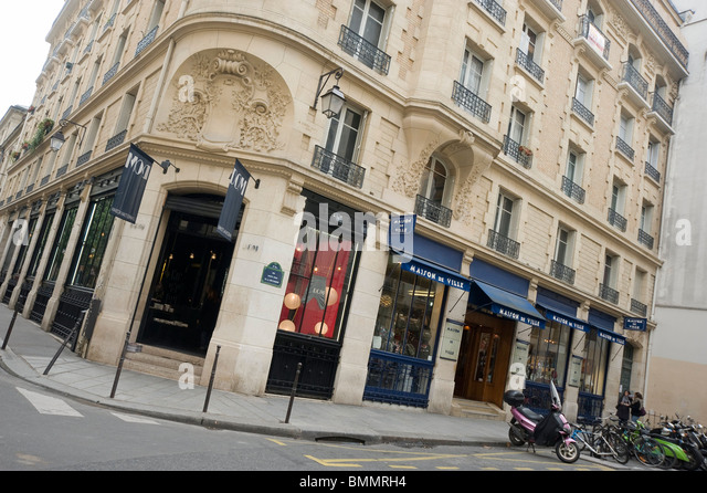 Marais Shopping Paris Stock Photos Marais Shopping Paris