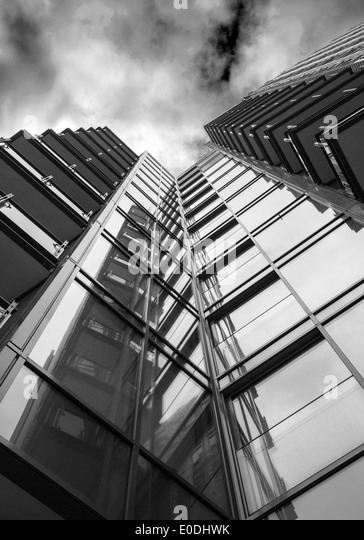 Modern Architecture London England central saint giles london stock photos & central saint giles