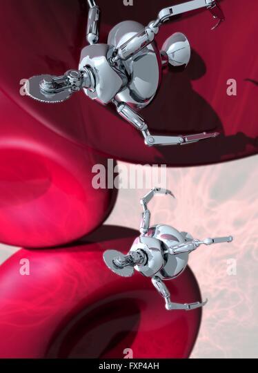 nanobots and nanotechnology in the human