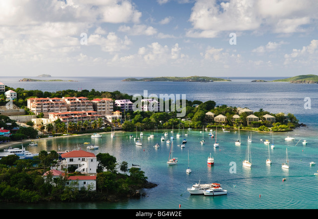 elevated-shot-of-cruz-bay-on-st-john-in-