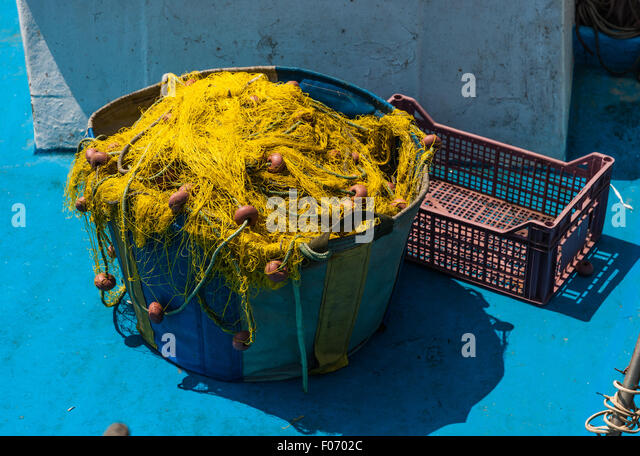 Fishing basket uk stock photos fishing basket uk stock for Fishing net floats
