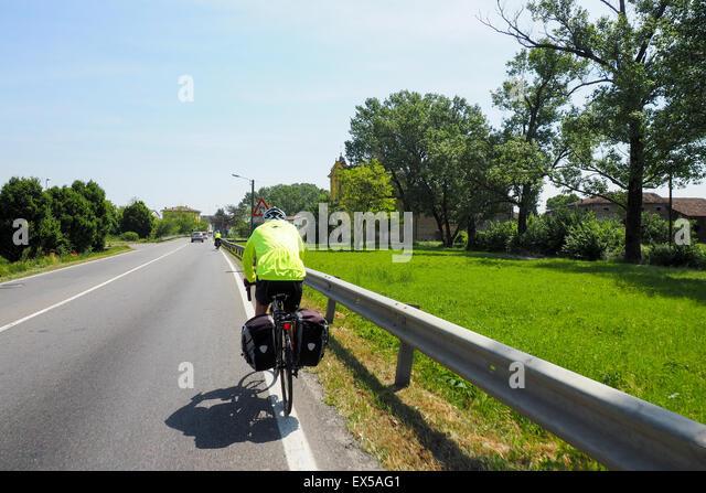 Cyclist Cyclists Bike Line Stock Photos Amp Cyclist Cyclists
