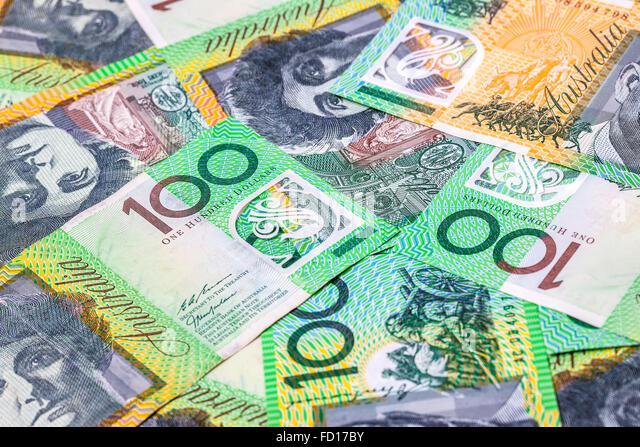 The Australian One Dollar Bill Stock Photos & The ...