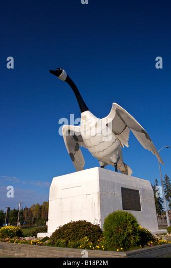 canada goose monument site in ontario