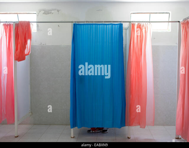 Changing Room At Pool   Stock Image Part 49
