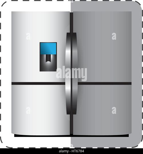 Refrigerator Illustration Stock Photos Amp Refrigerator