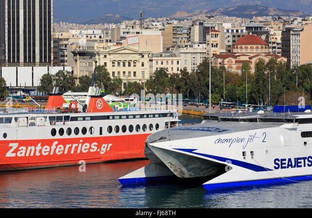 Harbor Of Piraeus Stock Photos & Harbor Of Piraeus Stock ...