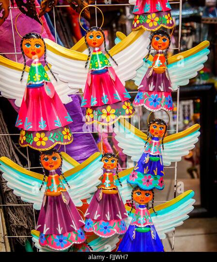 Religious Souvenirs Mexico Stock Photos & Religious