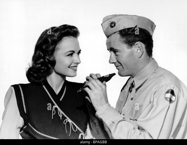 Donna reed amp robert walker see here private hargrove 1944 stock