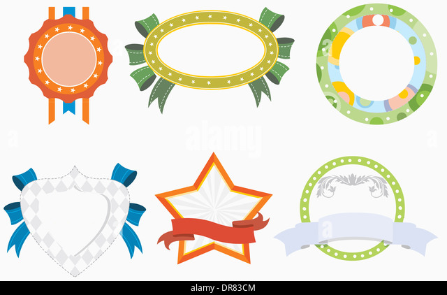 Illustration Unique Set Memo Designs Stock Photos & Illustration ...