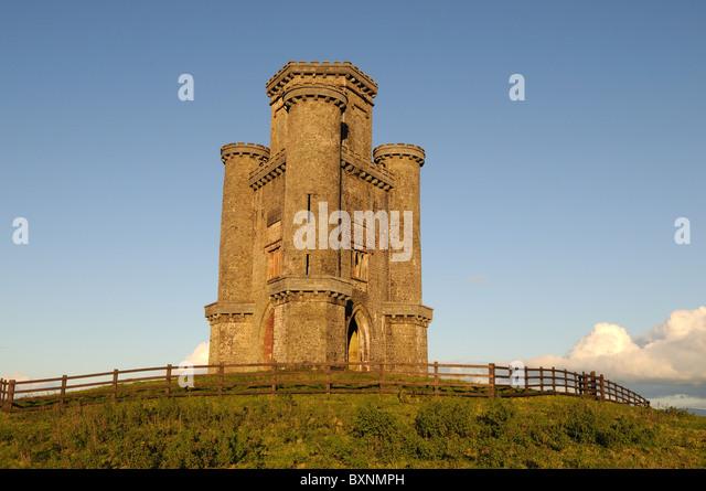 Paxtons Tower Llanarthne Carmarthenshire Wales Stock ... | 640 x 445 jpeg 70kB