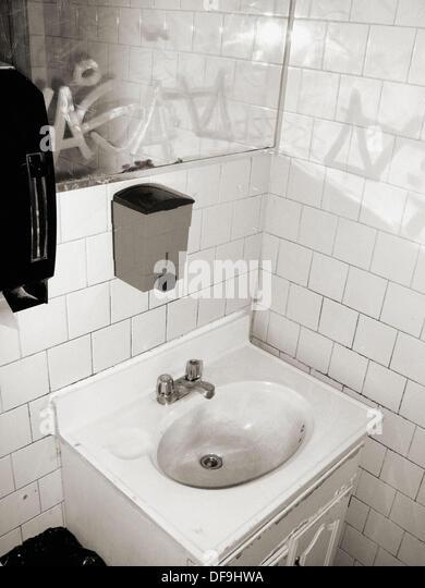 Bathroom Mirrors York bathroom mirror monochromatic stock photos & bathroom mirror