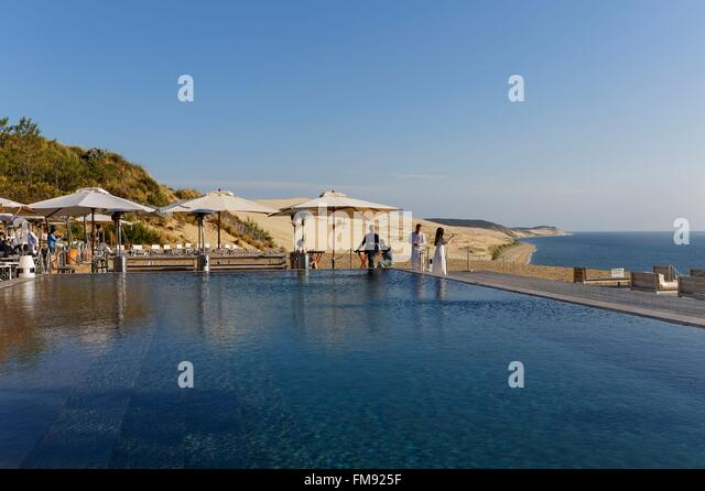 France gironde dune du pyla stock photos france gironde dune du pyla stock images alamy - Restaurant dune du pyla ...