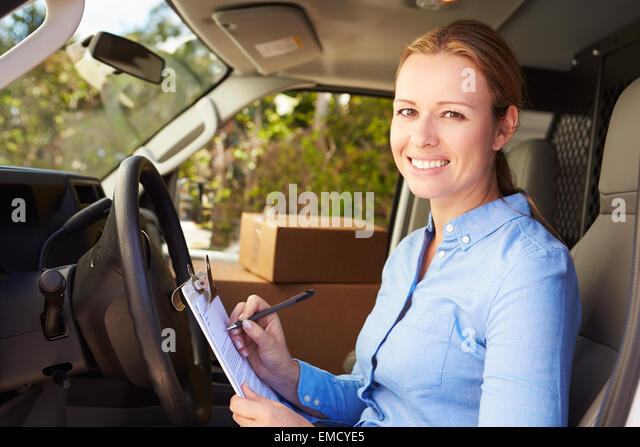 Delivery Van Driver Stock Photos & Delivery Van Driver Stock Images ...