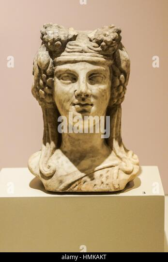 Marble Sculpture Of Dionysus Stock Photos & Marble ...