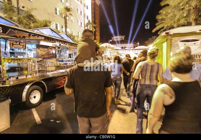 Food Trucks Fremont Street Las Vegas