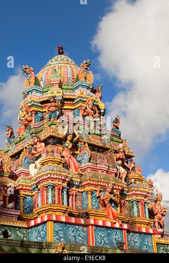 mauritius hindu temple stock photos mauritius hindu. Black Bedroom Furniture Sets. Home Design Ideas