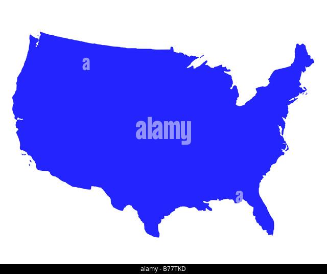 Usa Map Stock Photos Images Alamy