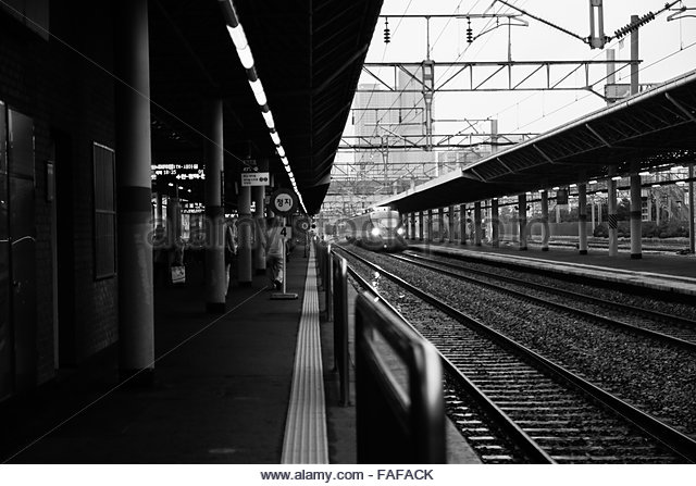 Railroad Station Black And White Stock Photos Amp Images Alamy