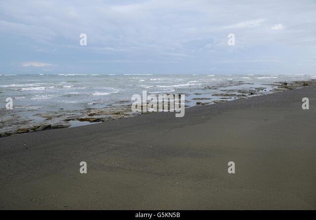 Corcovado national park costa rica stock photos for Black sand beaches costa rica
