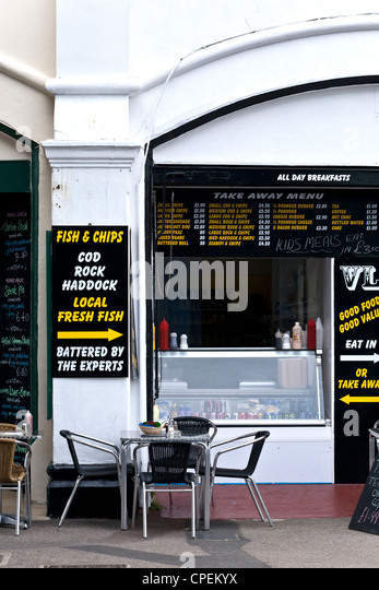 Fish And Chips Restaurant Westcliff On Sea