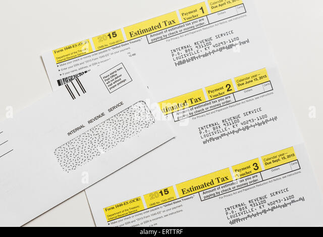 Form 1040 Es Stock Photos & Form 1040 Es Stock Images - Alamy