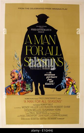 an analysis of robert bolts play a man for all seasons Fred zinnemann has done a fine job of putting upon the screen the solid substance of a man for all seasons, robert bolt's play about sir thomas more, and in doing so he presents us with as awesome view of a sturdy conscience and a steadfast heart view full article in timesmachine » the article as it originally.