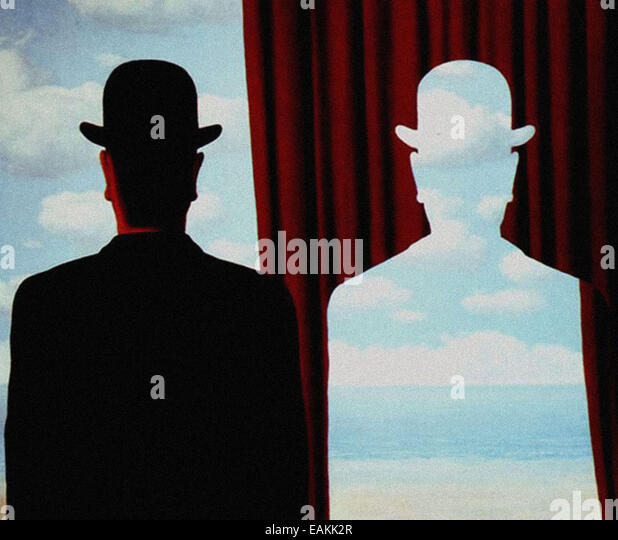Magritte stock photos magritte stock images alamy for Rene magritte le faux miroir