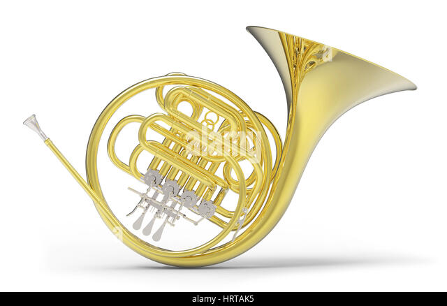 Brass Instruments Isolated Stock Photos & Brass ...