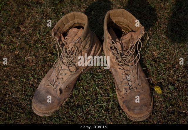 Combat Boot Stock Photos & Combat Boot Stock Images - Alamy