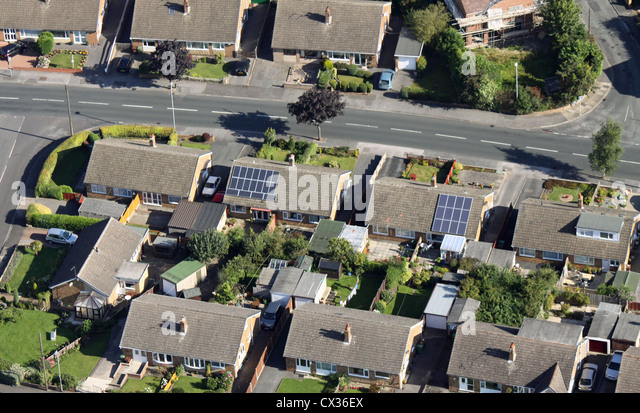 Photovoltaic Solar Panels On Roof Stock Photos