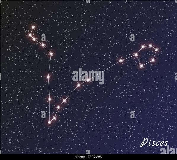 Pisces Constellation Stock Photos & Pisces Constellation ...