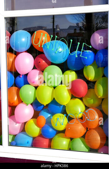 Balloons Shop Stock Photos & Balloons Shop Stock Images ...