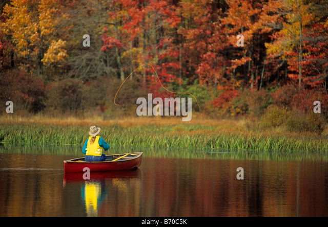 Canoing stock photos canoing stock images alamy for Fly fishing pennsylvania