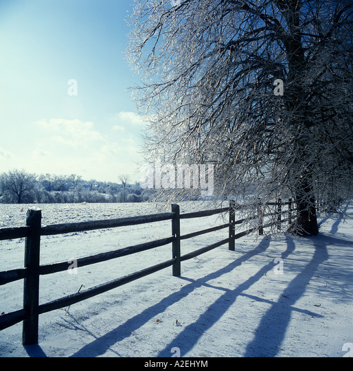 Usa nature rural frigid stock photos