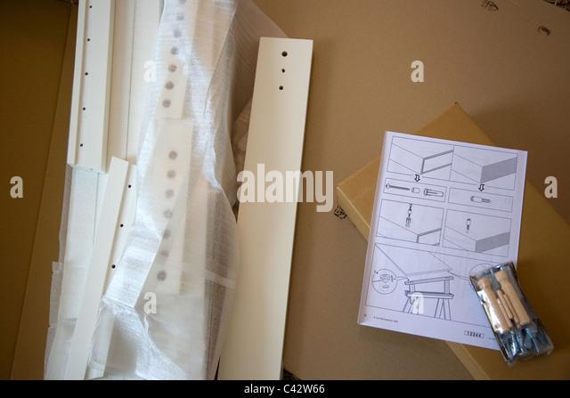 Flatpack stock photos flatpack stock images alamy for Ikea flat pack garden