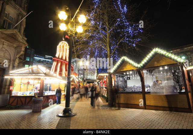 Salt Lamps Leeds : German Christmas Market Held In Stock Photos & German Christmas Market Held In Stock Images - Alamy