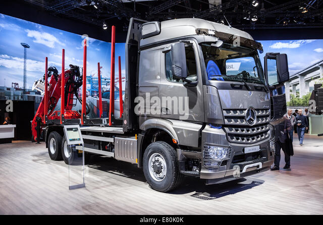Daimler commercial vehicles stock photos daimler for Mercedes benz commercial trucks